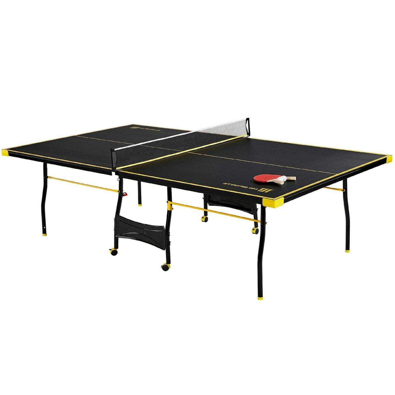 Ping Pong Folding Size Set Indoor Outdoor Full Set