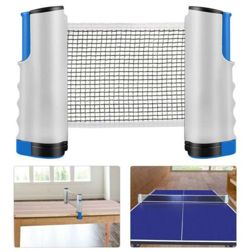 Anywhere Retractable Table Tennis Net & Post Portabe Replace