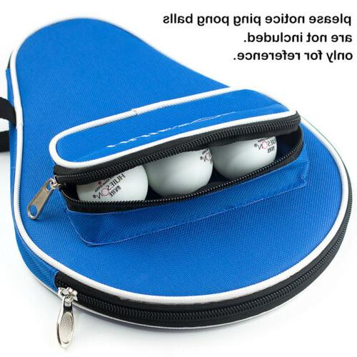 Professional Table Bat Oxford Pong Case Balls Bag
