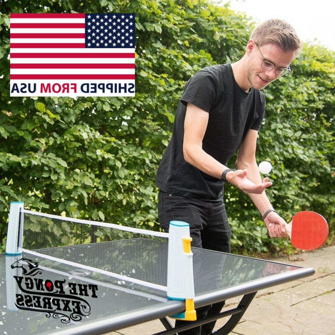 Retractable Pong Net The Pongy