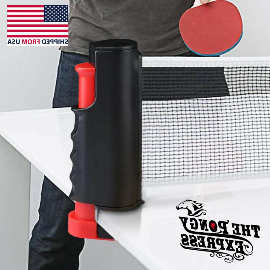 Retractable Pong Net Kit The Pongy