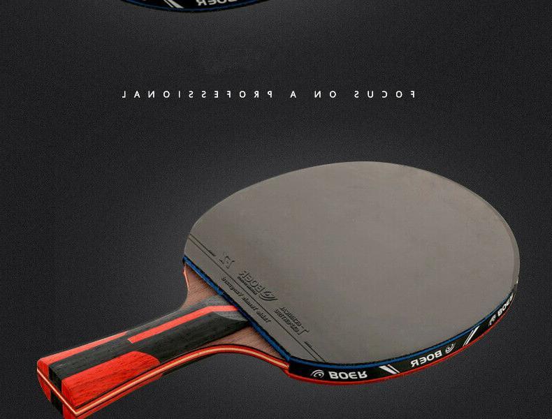 Stiga Pro Carbon Premium Ping Pong Tennis Paddle Racket Titan