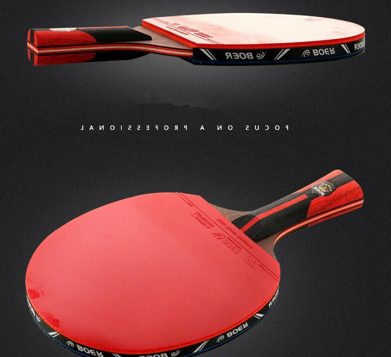 Stiga Carbon Ping Pong Table Tennis Paddle Racket Tournament