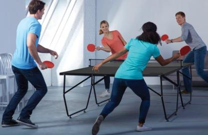 Table Tennis Folding Conversion Top Board For