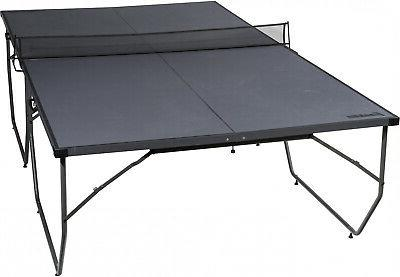 Folding Table Tennis No Tools Easy Assembly Nice Foldable Po