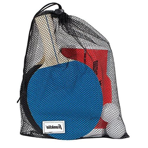 Franklin Sports Table To-Go Ping-Pong Set – Ping-Pong Net, Easy-Carry – Easy Expands to Easily Attaches to Table Surfaces