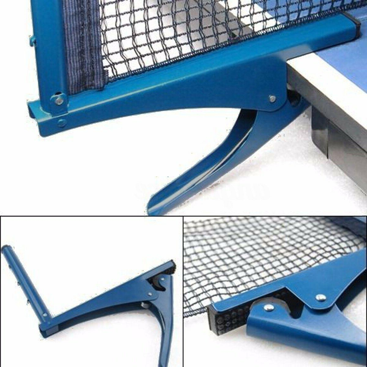 Table Tennis Ping Pong Net Replacement Indoor Game Post Clam
