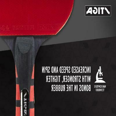 Table Tennis Racket Ping Premium Rubber Paddle US