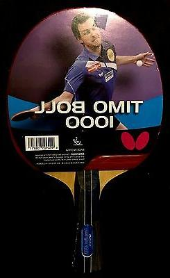Butterfly Timo Boll 1000 Ping Pong Paddle Table Tennis Racke