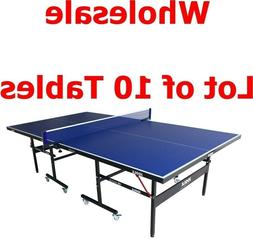Lot of 10 Joola Indoor Table Tennis/Ping Pong Table - Inside