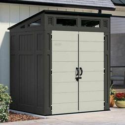 Suncast 6' x 5' Modern Storage Shed, 200 cu. ft. of Storage