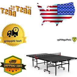 Killerspin 367-02 MyT4 BlackPocket Table Tennis Ping Pong Ta