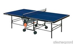 new blue playback rollaway ping pong table