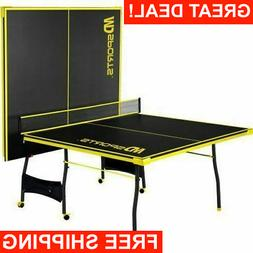 Official Size Professional Tennis Ping Pong Table 2 Paddles