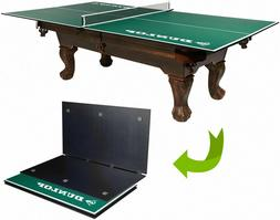 Official Size Ping Pong Table Conversion Top Fits Over Pool