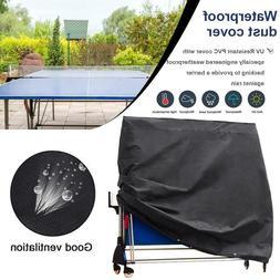 Ping Pong Table Cover Waterproof UV Folding Table Tennis Cov