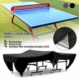 Ping Pong Table Tennis Table Cover Anti-UV Waterproof Indoor