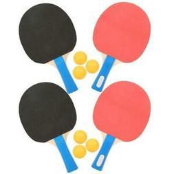 Portable Student Table Tennis Set Pong Bats Balls for Sports