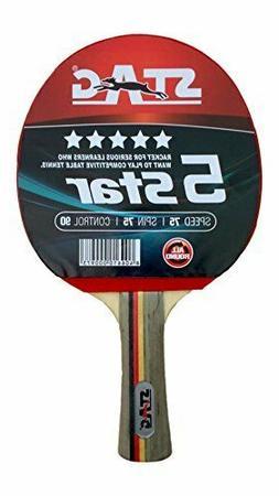 premium quality stag 5 star table tennis