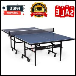 Professional MDF Indoor Table Tennis Table, With Quick Clamp