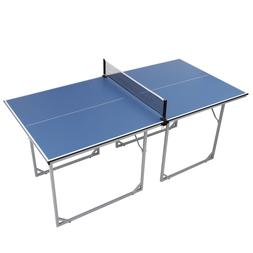 Professional MDF Indoor Table Tennis Table w/ Quick Clamp Pi