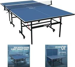 Professional Ping Pong Tennis Table, Indoor, Foldable, Regul