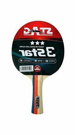 quality stag 3 star table tennis racquet