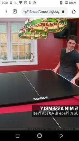 JOOLA Regulation Table Tennis Top with Foam Backing Table Co