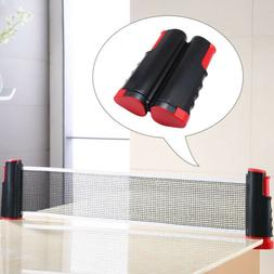 Retractable Portable Table Tennis Net & Post Replacement Kit