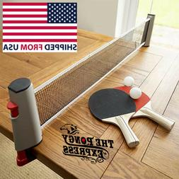 retractable table tennis ping pong portable net