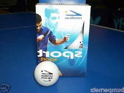 Cornilleau Sport 6 White Table Tennis Ping Pong Balls
