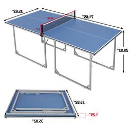 Table Tennis Ping Pong Table Indoor/Outdoor With Paddle Grea