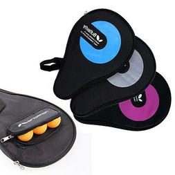 Butterfly Table Tennis Racket Cover Full Size Paddle & Balls