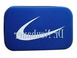 table tennis racket hard case blue