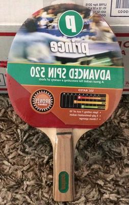 Prince Table Tennis Racket SPIN Control - Ping Pong Paddle N