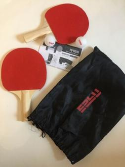 Prince Table Top Ping Pong Set Paddles Balls Net NEW in Carr