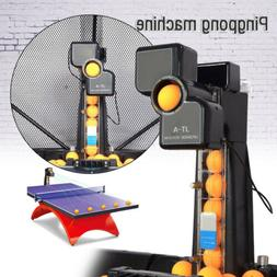 US JT-A Automatic Table Tennis Robot Ping Pong Ball Train Ma