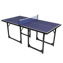 Zimtown Folding Table Tennis Ping Pong Table